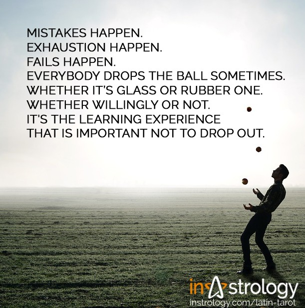 Instrology Quotes - Juggling life