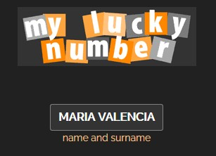Your names lucky number